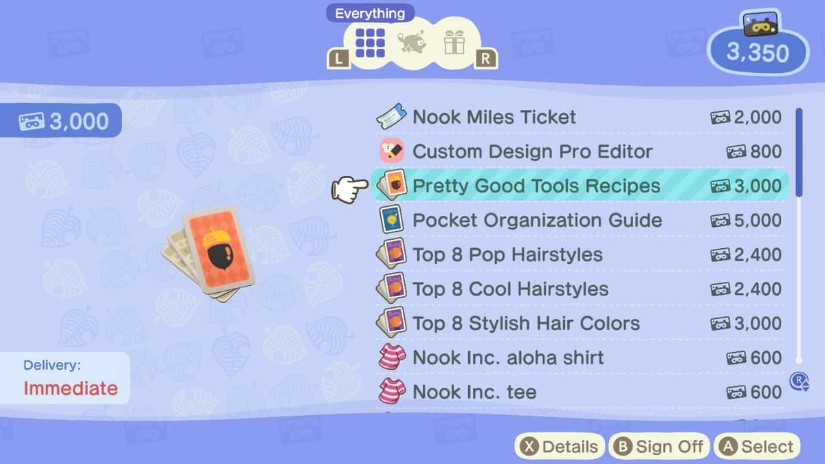 How to Upgrade Tools in Animal Crossing New Horizons