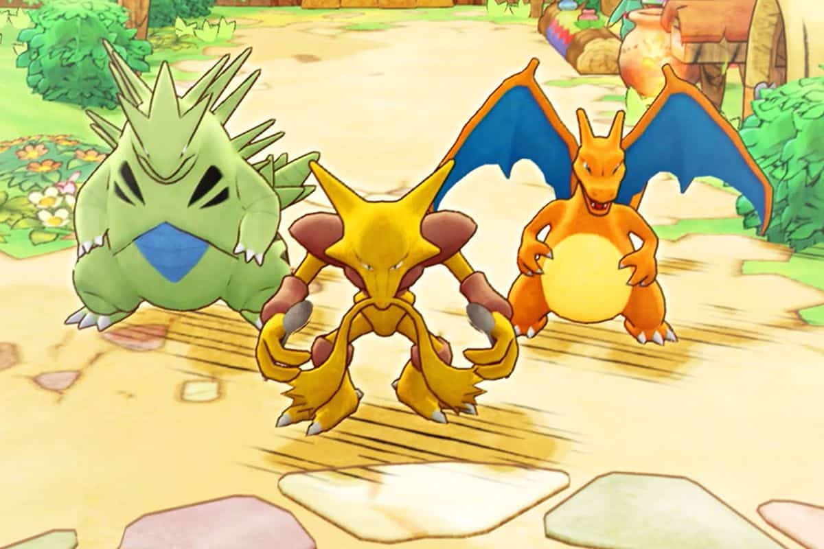 How to Level Up Fast in Pokemon Mystery Dungeon DX