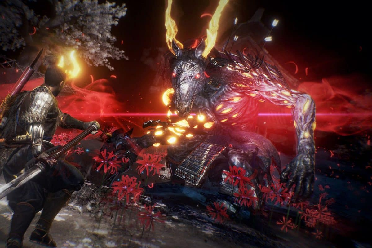 Nioh 2 Blessed and Yokai Weapons