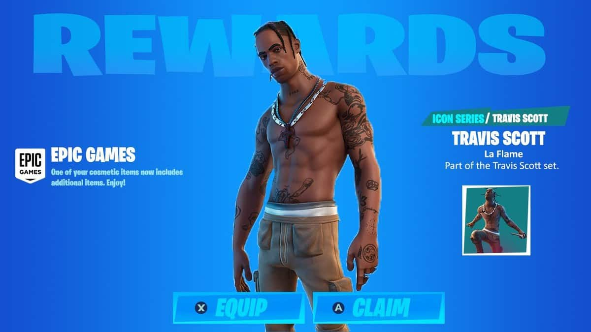 Fortnite Travis Scott Astronomical Challenges