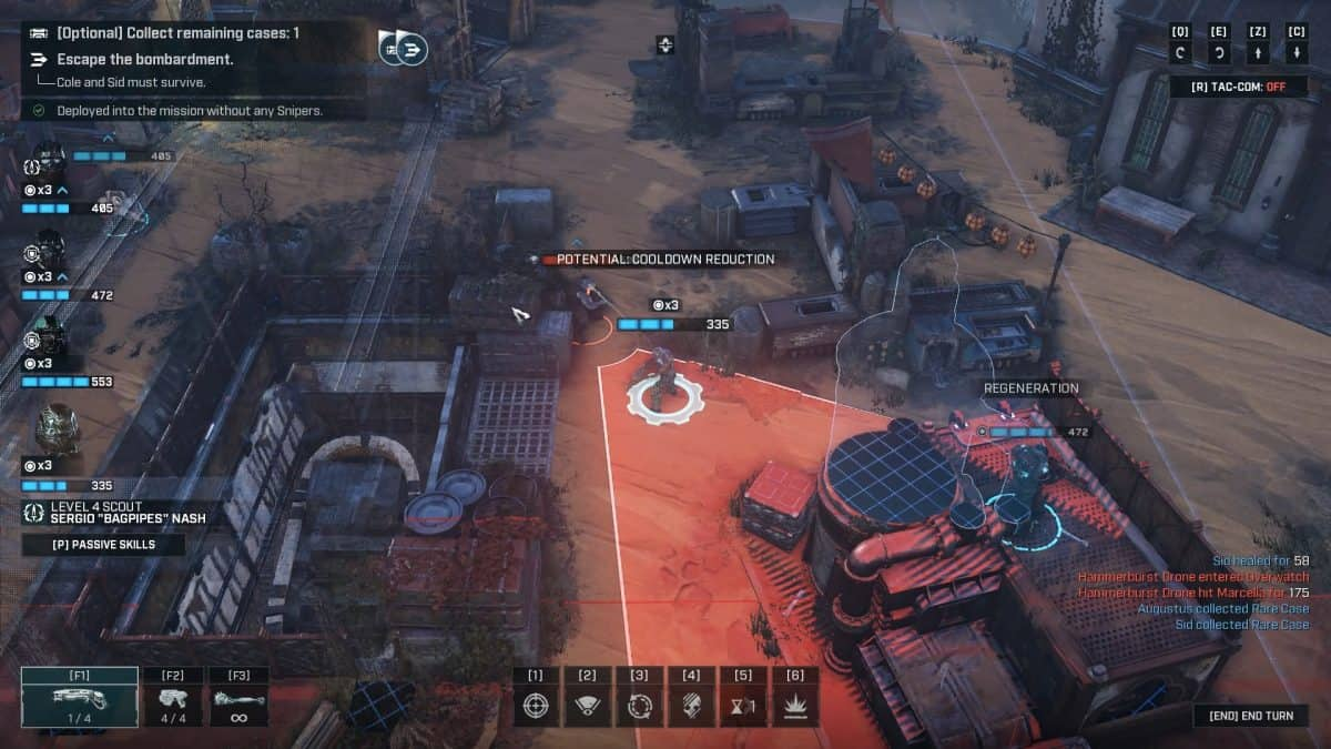 Gears Tactics Act 1 Chapter 1 Zero Hour Walkthrough