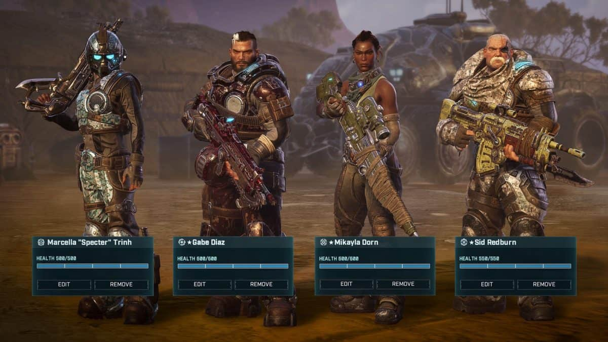 How to Unlock More Classes in Gears Tactics