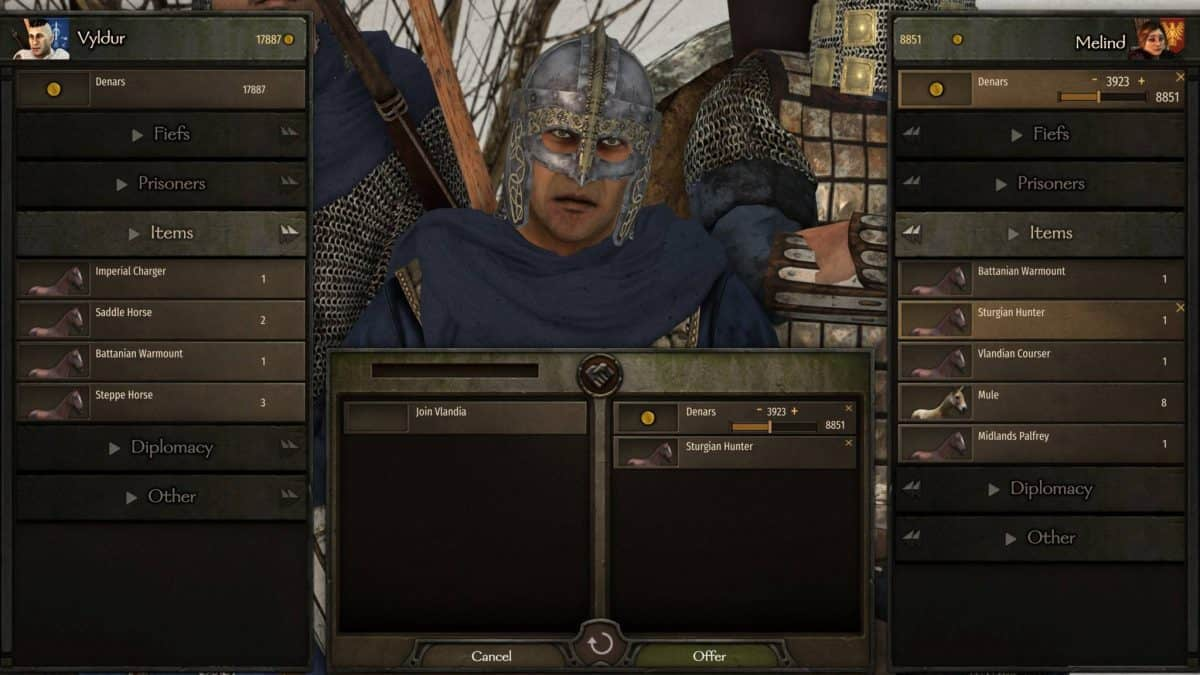 How to Recruit Enemy Lords in Mount and Blade 2: Bannerlord