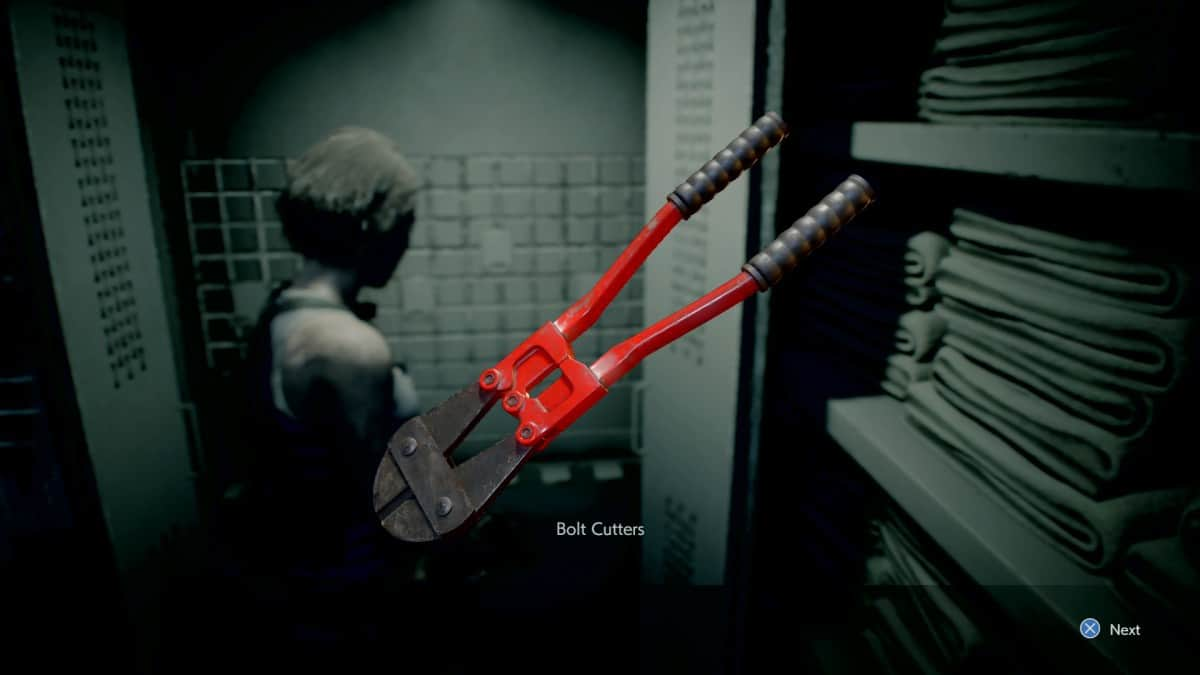 Resident Evil 3 Remake Bolt Cutters Location Guide