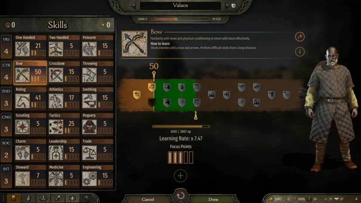 Mount and Blade 2: Bannerlord Character Creation Guide