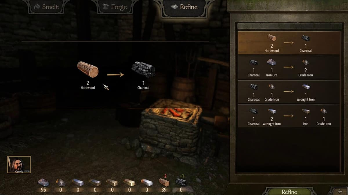 How to Get Charcoal in Mount and Blade 2: Bannerlord