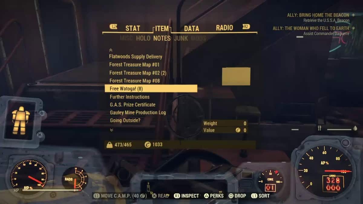 Fallout 76 Hornwright Industrial Exam Answers
