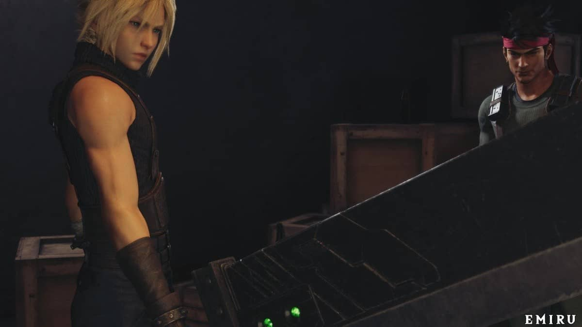 Final Fantasy 7 Remake Cloud Builds