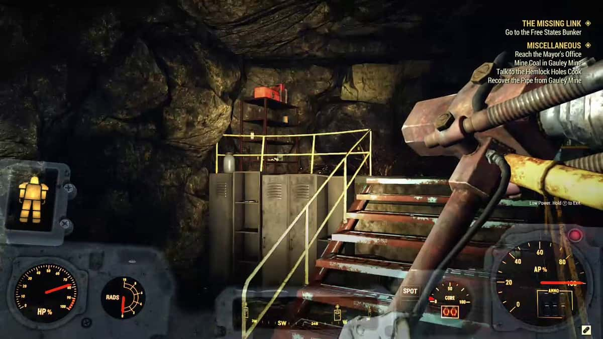 Fallout 76 Wastelanders Gauley Mine Code Guide
