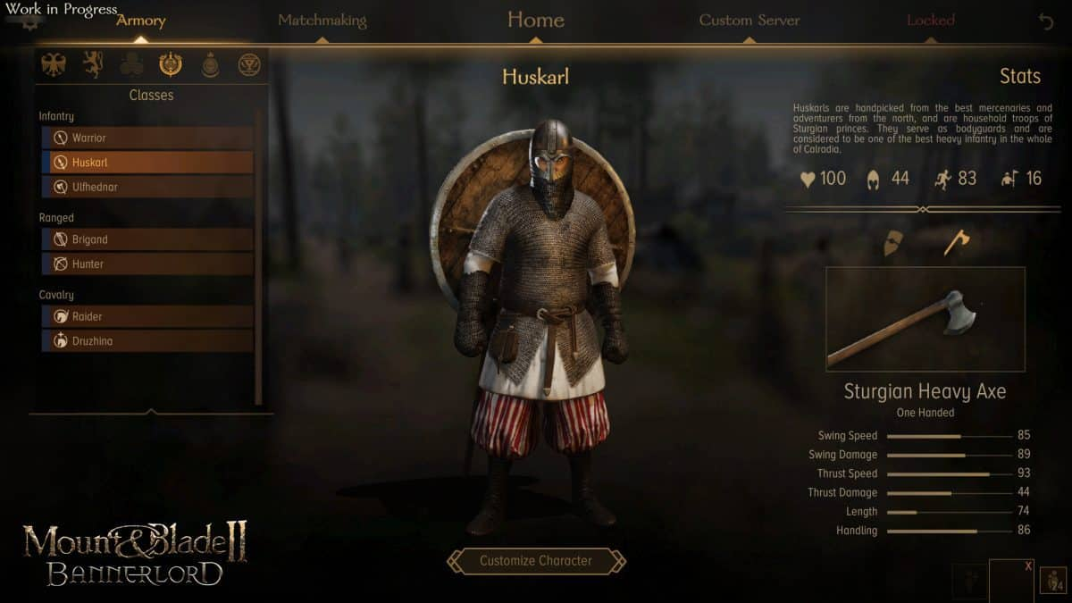 How to Equip Gear in Mount and Blade 2: Bannerlord