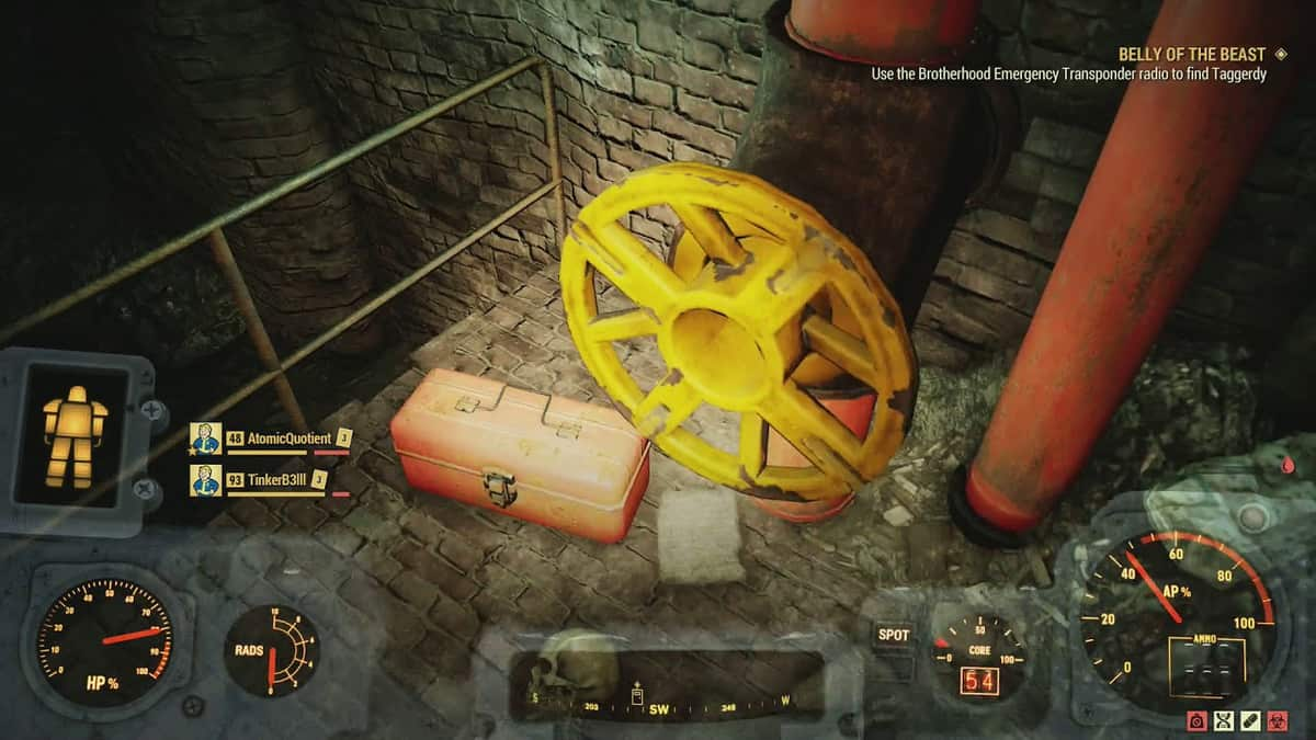 Fallout 76 Wastelanders Ally: Out of Key Walkthrough