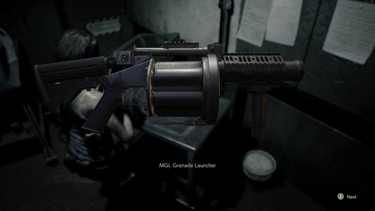 How to Get the Grenade Launcher in Resident Evil 3 Remake