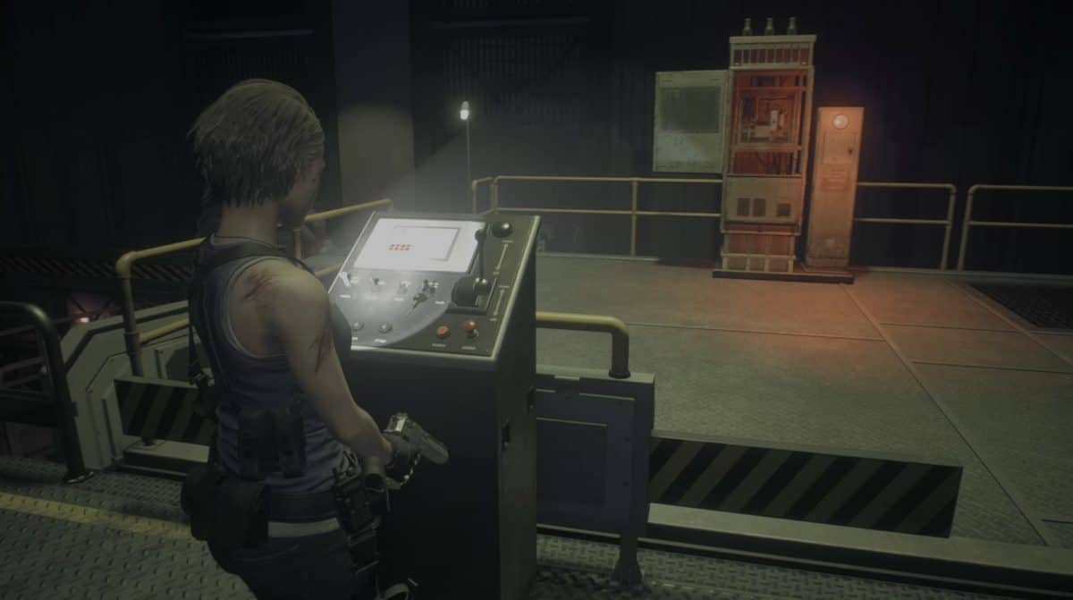 Resident Evil 3 Remake Warehouse Fuse Puzzle Solution
