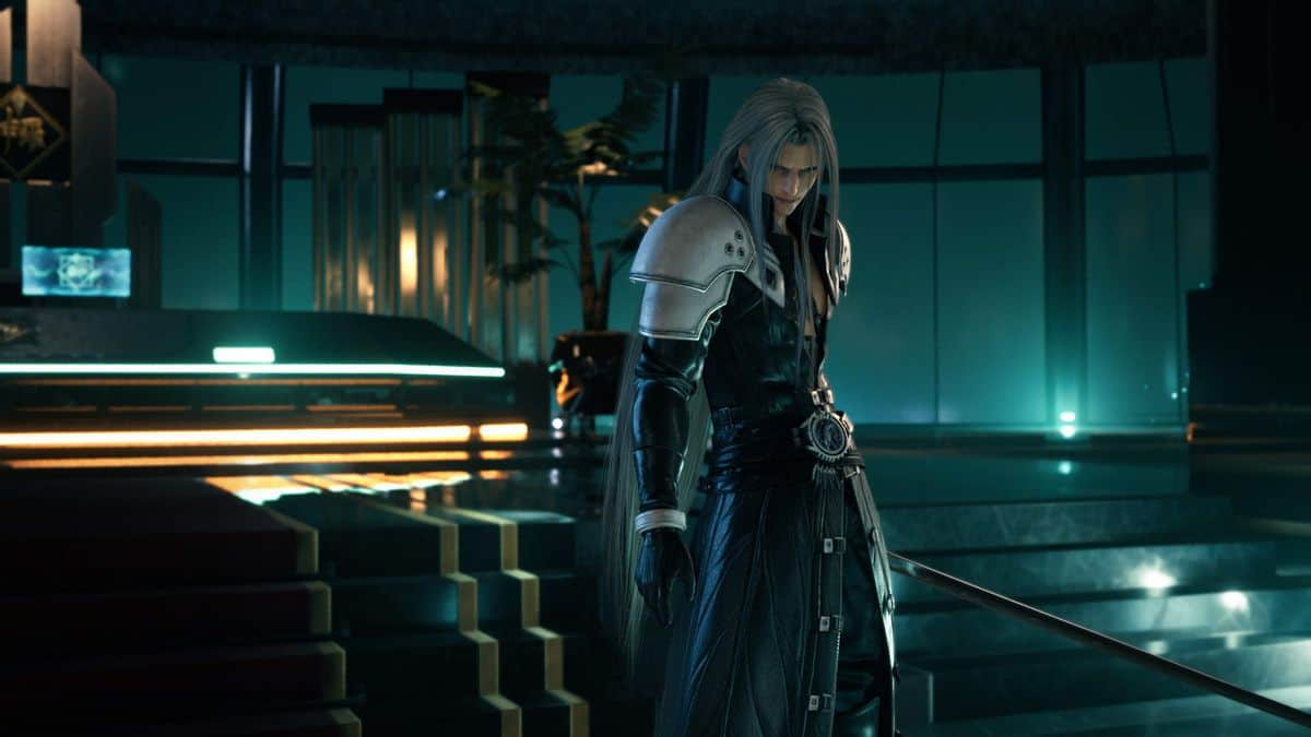 Final Fantasy 7 Remake Sephiroth Boss