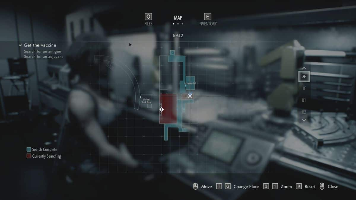 Resident Evil 3 Remake Vaccine Synthesis Lab Puzzle Solution