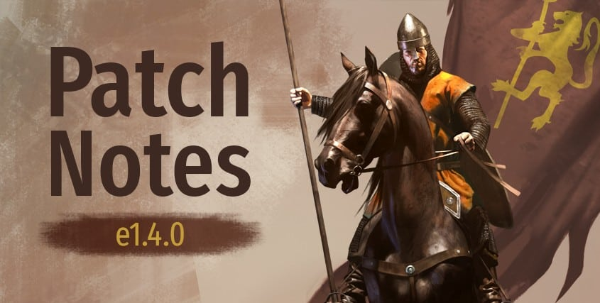 Mount & Blade II: Bannerlord Update e1.4.0 Is Out, Various Improvements
