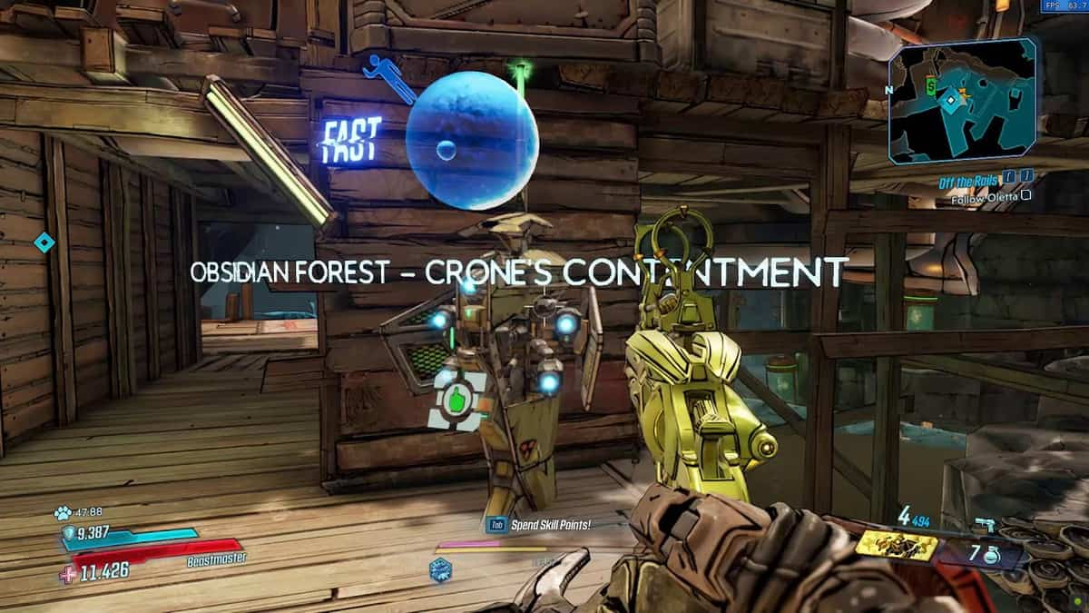 Borderlands 3 Bounty of Blood Obsidian Forest Crew Challenges Guide