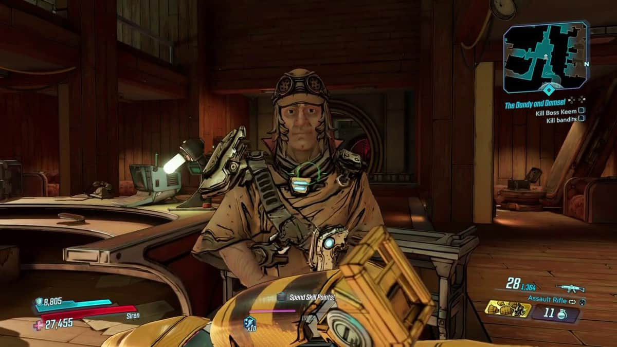 Borderlands 3 Bounty of Blood The Dandy and Damsel Walkthrough