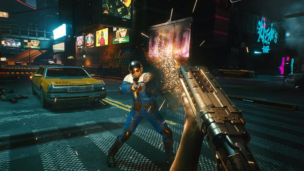 Cyberpunk 2077 Players Can Burn Down Night City If They Want