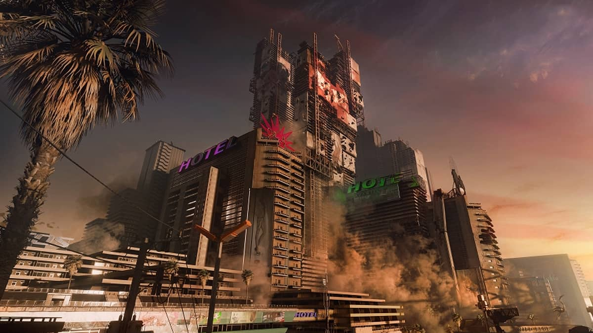 Cyberpunk 2077 Twitter Account Makes A Crack About EA In Night City