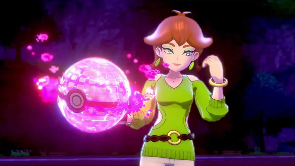 How to Defeat Dojo Matron Honey in Pokemon Sword and Shield Isle of Armor