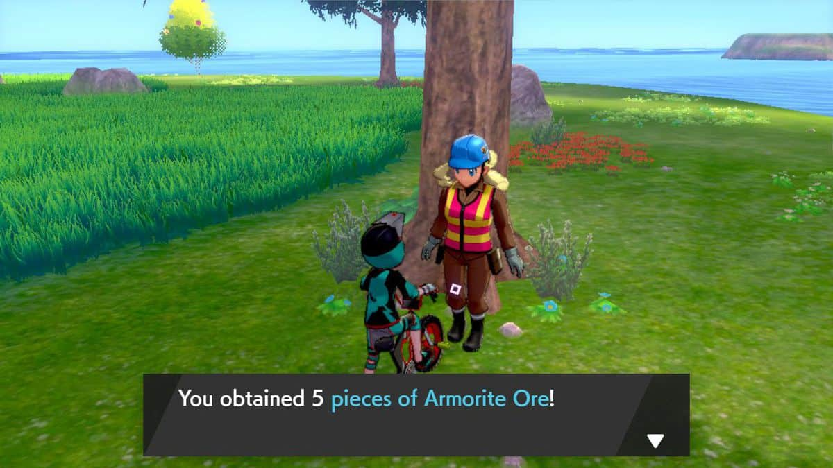 How to Farm Armorite Ore in Pokemon Sword and Shield Isle of Armor