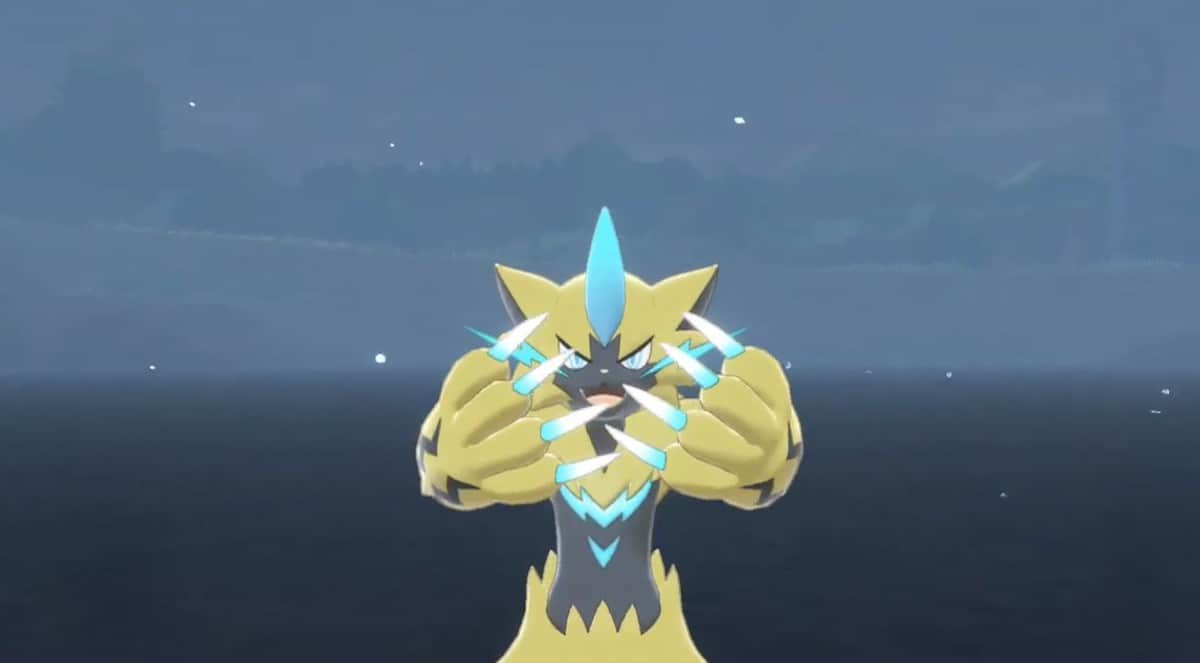 How to Catch Zeraora in Pokemon Sword and Shield, Locations and Stats
