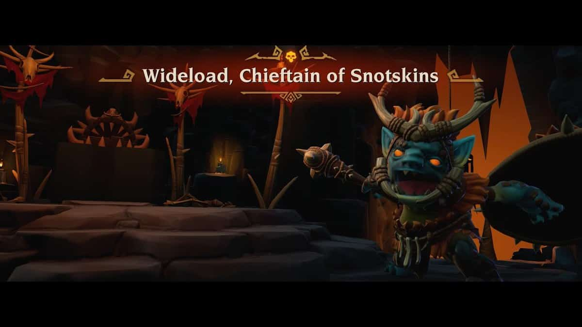 Wideload, Chieftain of Snotskins