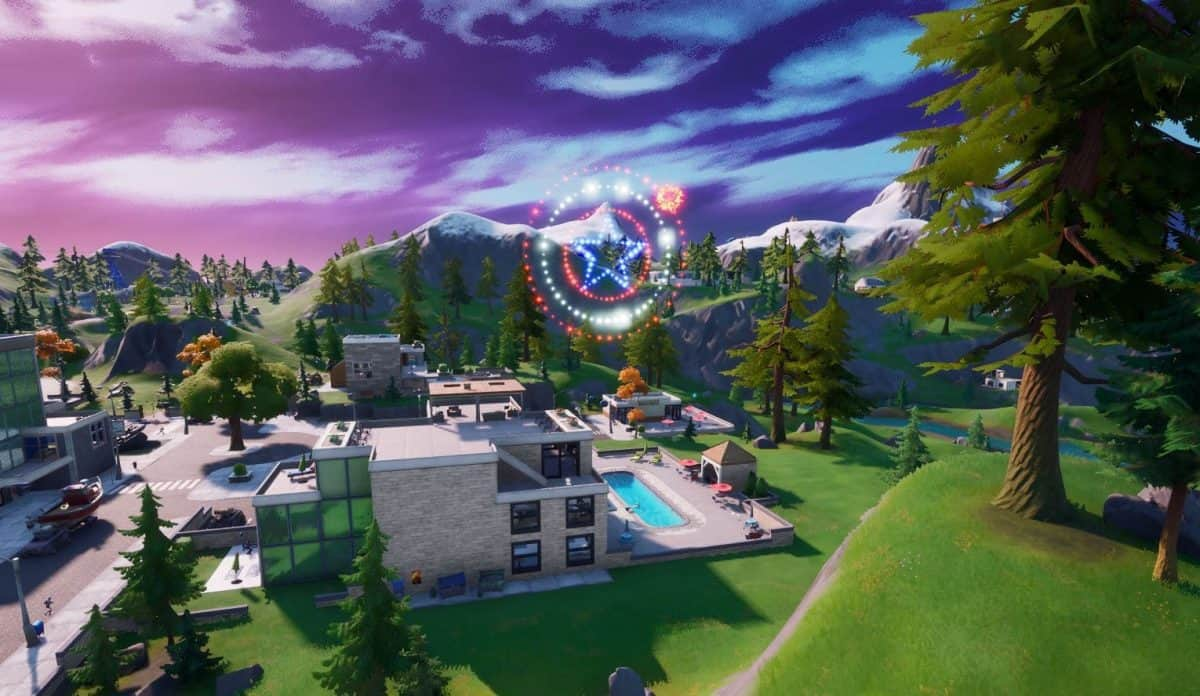 Fortnite Lazy Lake Fireworks Locations Guide