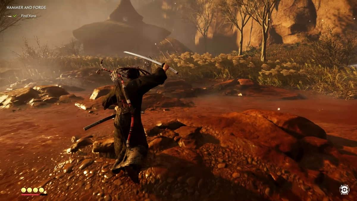 Ghost of Tsushima Hammer and Forge Walkthrough