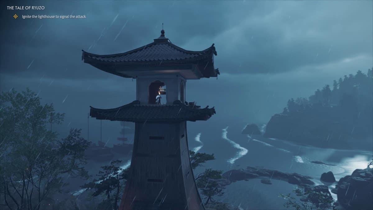 Ghost of Tsushima Lighthouses Locations