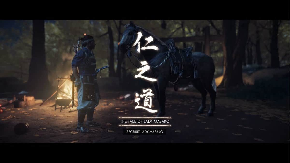 Ghost of Tsushima The Tale of Lady Masako