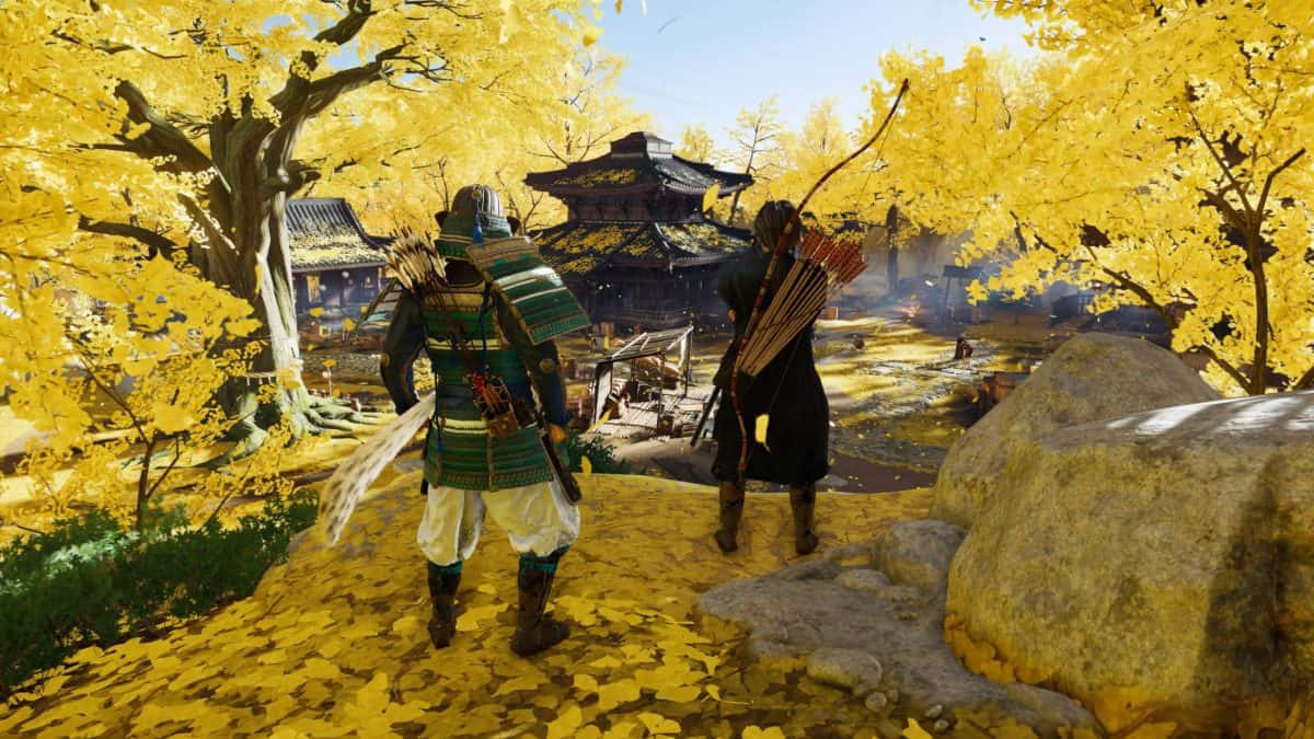 Ghost of Tsushima The Walls of Yarikawa Walkthrough