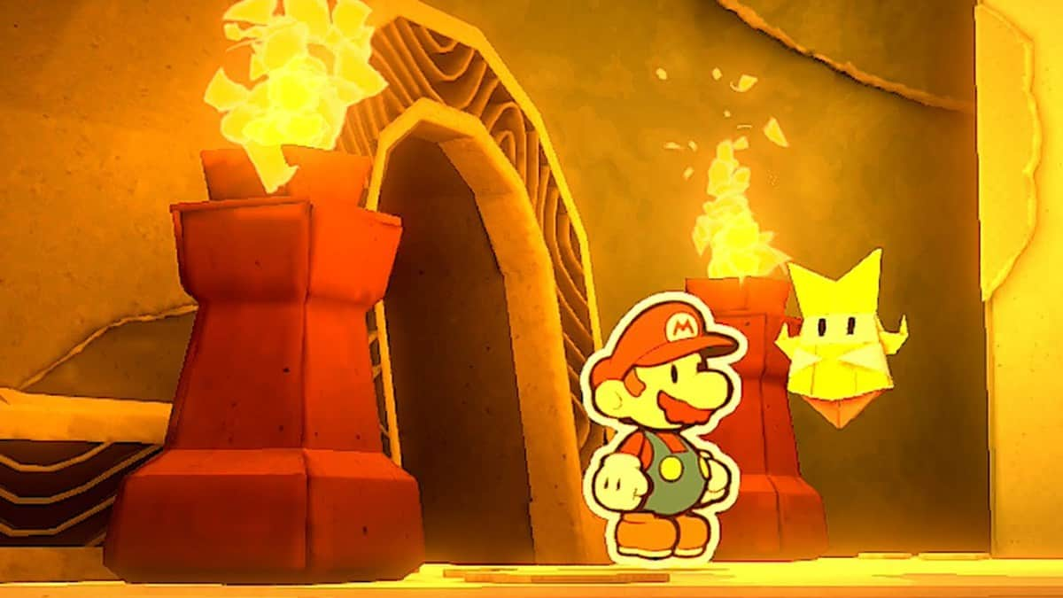 Paper Mario The Origami King Earth Vellumental Temple