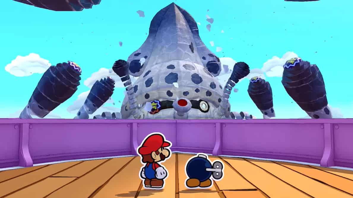 Paper Mario The Origami King Gooper Blooper