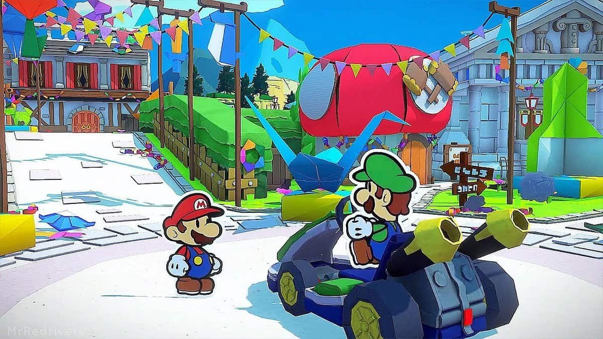 Paper Mario The Origami King Heart Island