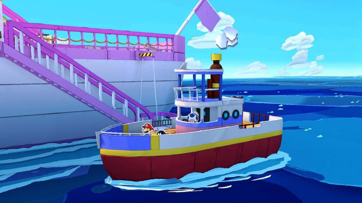 Paper Mario The Origami King The Great Sea Guide