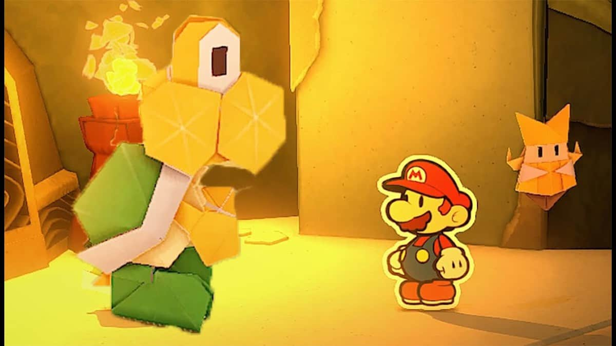 Paper Mario The Origami King Overlook Tower Guide