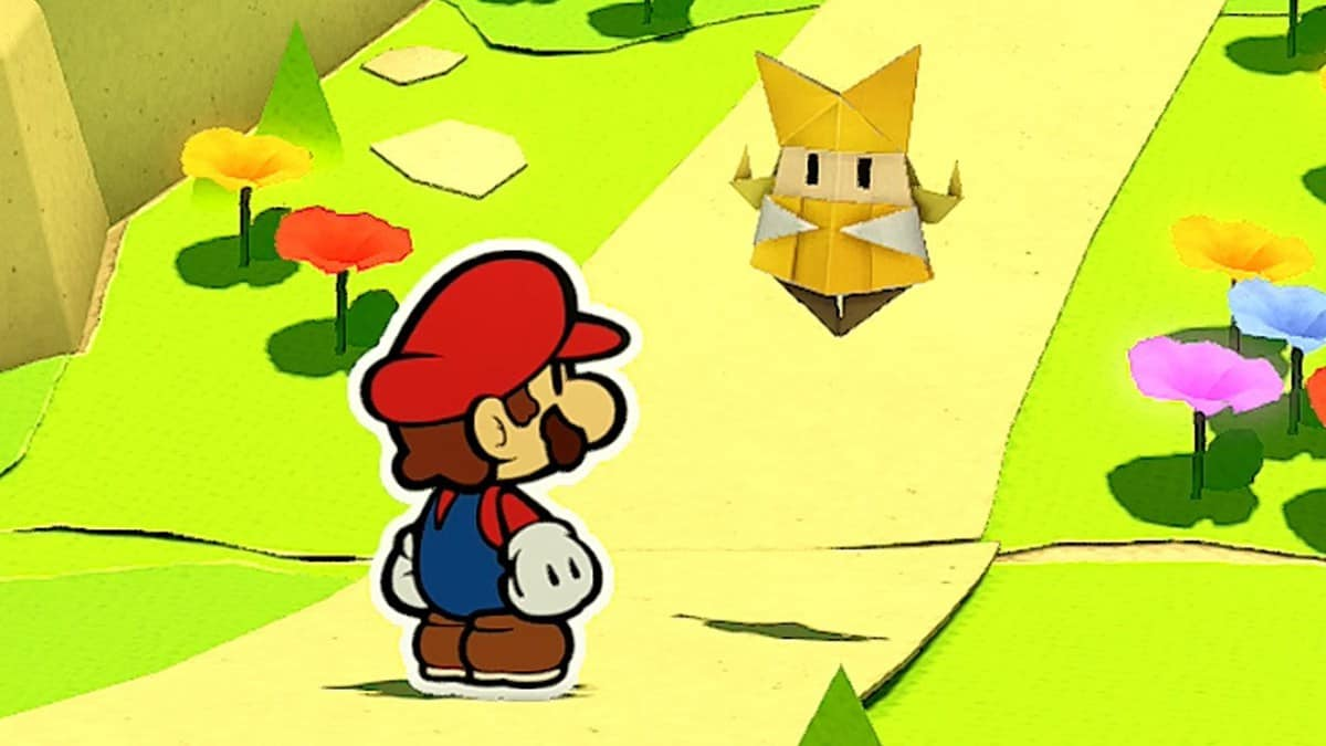 Paper Mario The Origami King Picnic Road