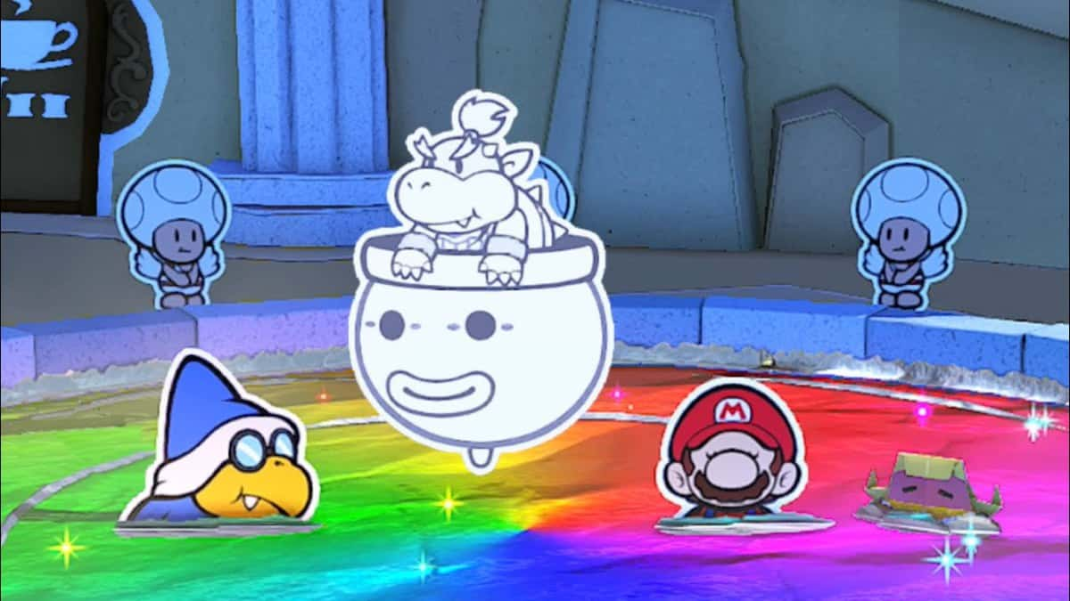 Paper Mario The Origami King Shangri Spa Guide