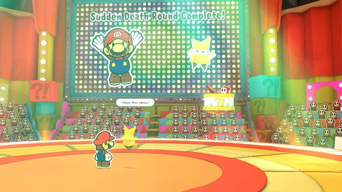 Paper Mario The Origami King Shy Guys Game Show Guide