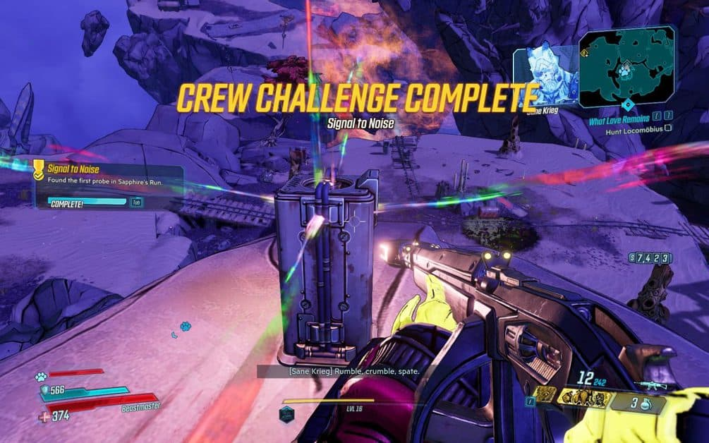 Borderlands 3 Signal To Noise Crew Challenge Locations Guide