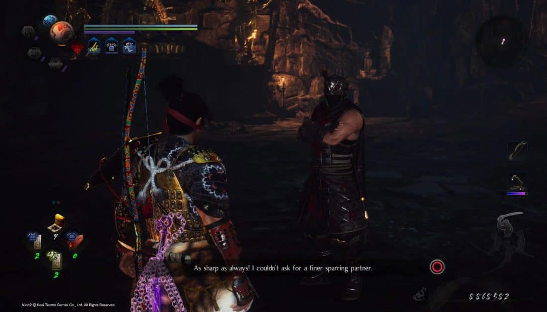 Nioh 2 Darkness in The Capital Soul Cores