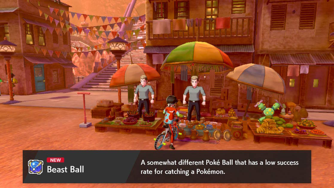 How to Buy Beast Balls in Pokemon Sword and Shield