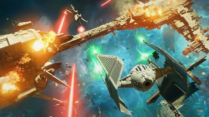 STAR WARS Squadrons crashes