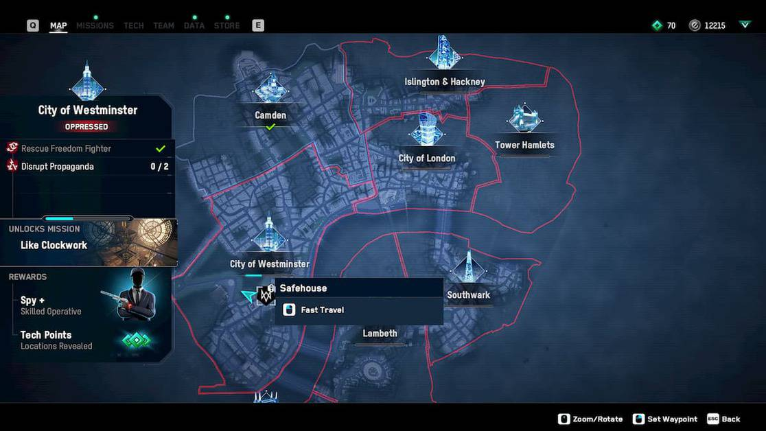 Watch Dogs Legion Defiance Activities