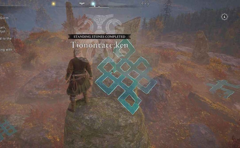 Assassin's Creed Valhalla Standing Stones Solutions