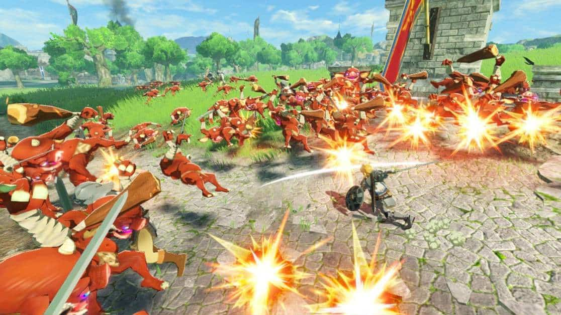 Hyrule Warriors Age of Calamity The Battle of Hyrule Field