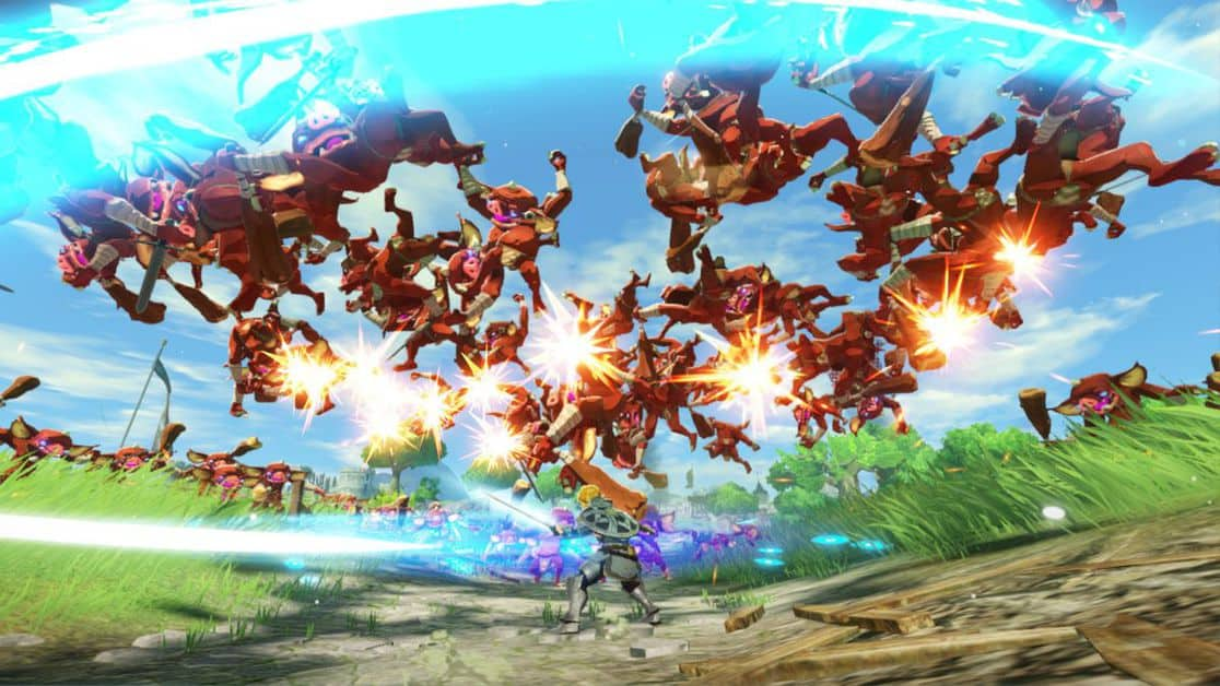 Hyrule Warriors Age of Calamity Water and Fire