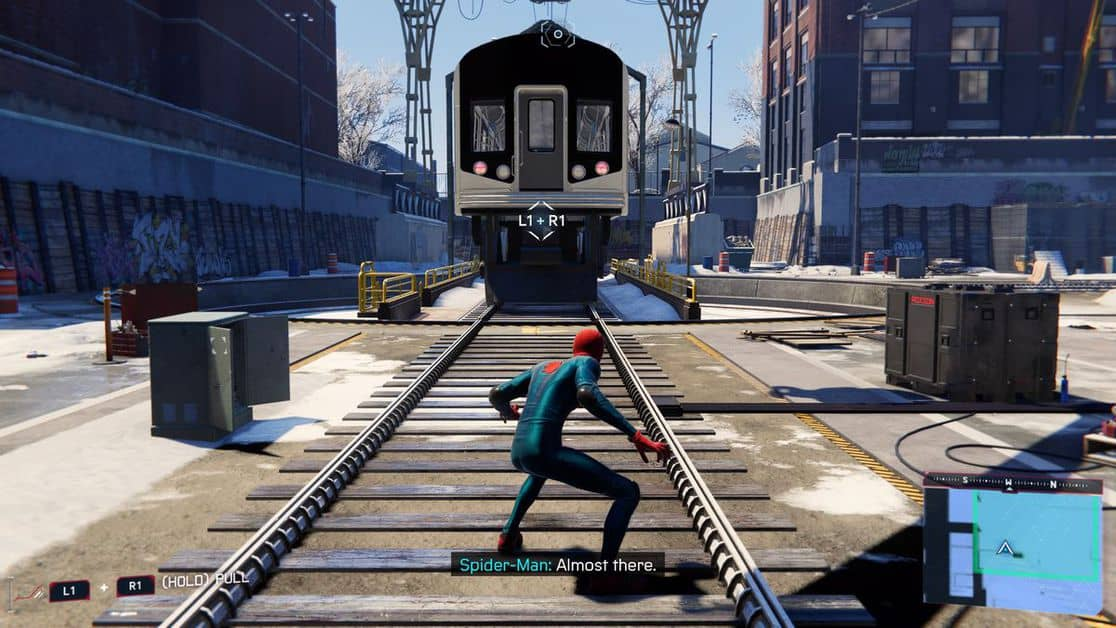 Spider-Man: Miles Morales Harlem Trains Out of Service